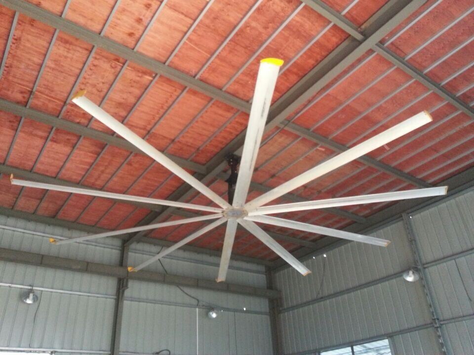 16ft (4.8m) Aluminum material 10pcs blades ceiling fan