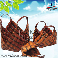 2014 new style hot selling and natural 100% handmaking latest fashion wholesale wicker laundry baskets