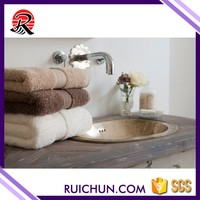 color fade resistant absorbent wholesale full white hotel hand towel