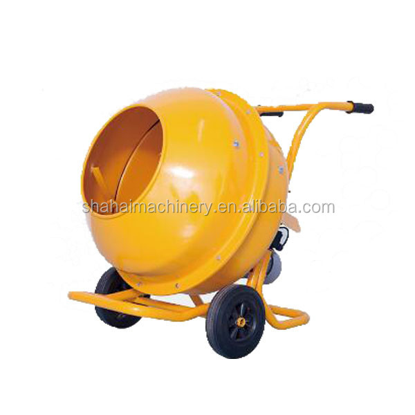 Latest innovative products industrial portable concrete mixer alibaba dot com/450L four wheels Car Tow Concrete Mixer