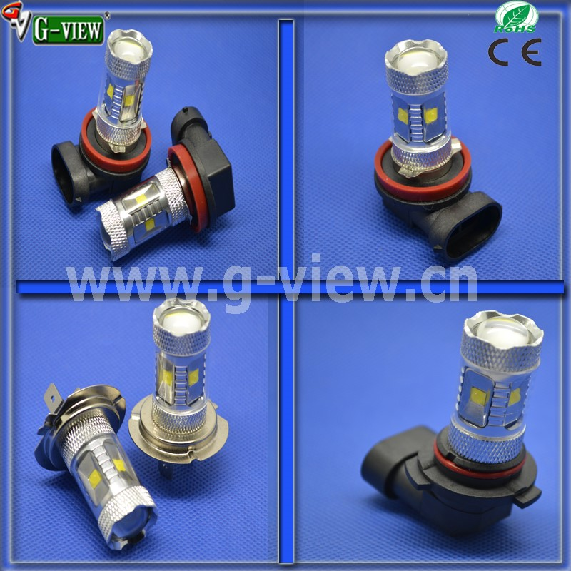 Hotsale superbright 50w 80w car led light H15 car led fog bulb