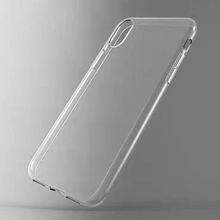 Free Sample Custom Clear Shockproof Mobile Back Cover Transparent Soft Tpu Cell Phone Case For Iphone x