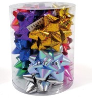 Christmas Decoration Gift Star Bow