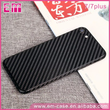 Original Black Carbon Fiber Phone Case,Full Protective Phone Protecter for iPhone 7