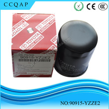 Made in China manufacturers wholesale price auto engine genuine new type of automotive toyota oil filter 90915-yzze2