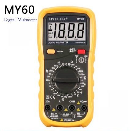 School Teaching Use 2000 Counts Low Price Digital Multimeter Resistance 200M Ohm MY60