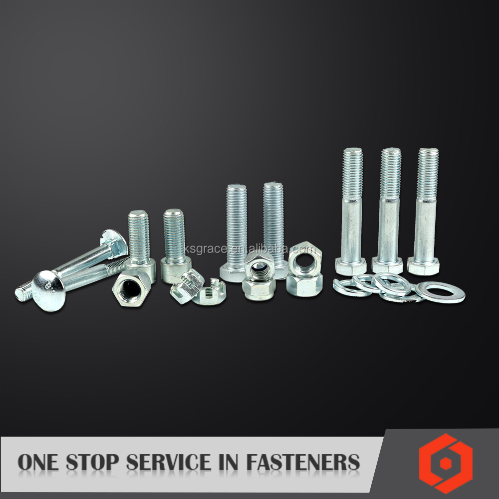Wholesale High Tensile GI Bolts and Nuts