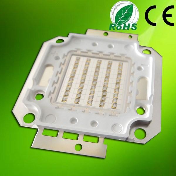 Korea LG Chip High Power 50W 100W 38000mW 360nm 365nm 370nm Ultraviolet LED Curing Light