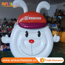 Gunagzhou customized big PVC inflatable cartoon balloon with cheap price