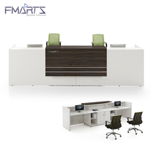 Classy Elegant Product 2 person Hospital office White Reception Desk