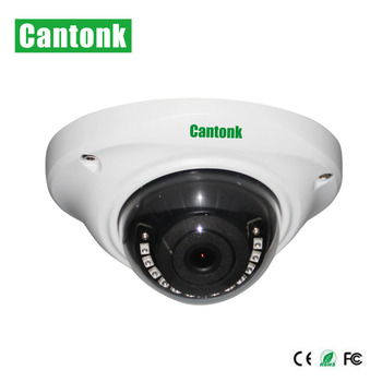 Cantonk Vandalproof AHD TVI CVI Analog 4 in 1 Full HD Dome Sony CCTV 2MP 1080P AHD Camera