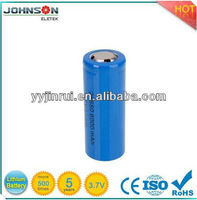3.7v 6000mah 26650 rechargable hearing