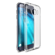 Transparent Clear Plastic Crystal Silicone Cover For Samsung Galaxy S4 Mini