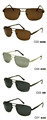 2017spring latest style fashion style metal sunglasses