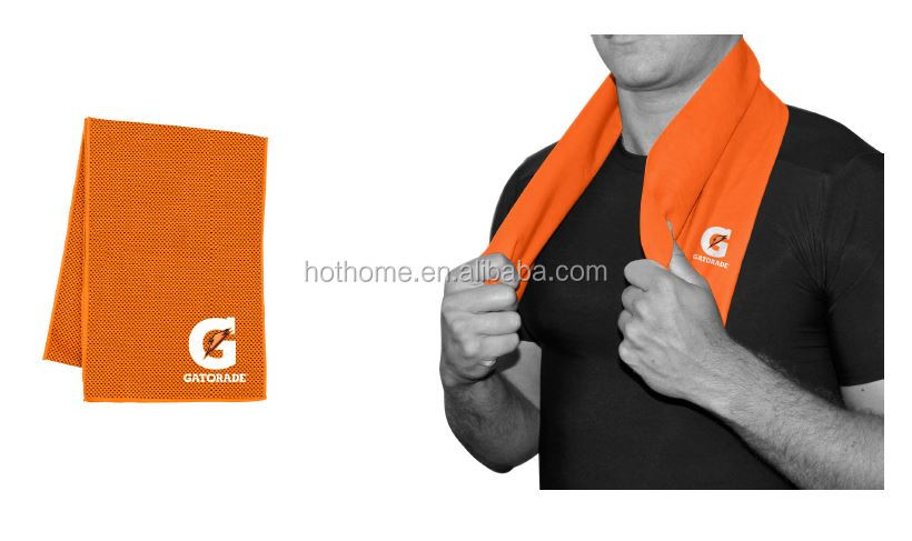 Hot Sale Color Changing Micro Mesh Cooling Towel for Outdoor Sport
