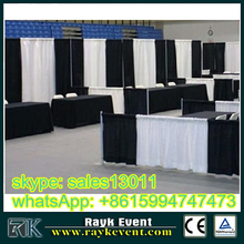 aluminum pipe and drape exhibition booth construction