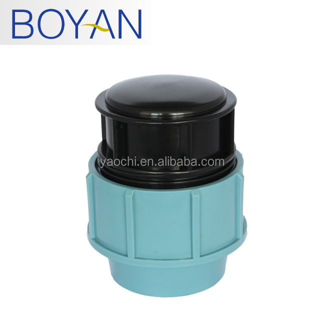 BOYAN pp pipe fittings compression irrigation plasticBOYAN pp pipe fittings compression irrigation plastic thread plug end cap