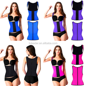 Popular Waist Training Corset Female Body Shaper Vest Waist Trainer Corsets Slimming Belt Latex Waist Cincher