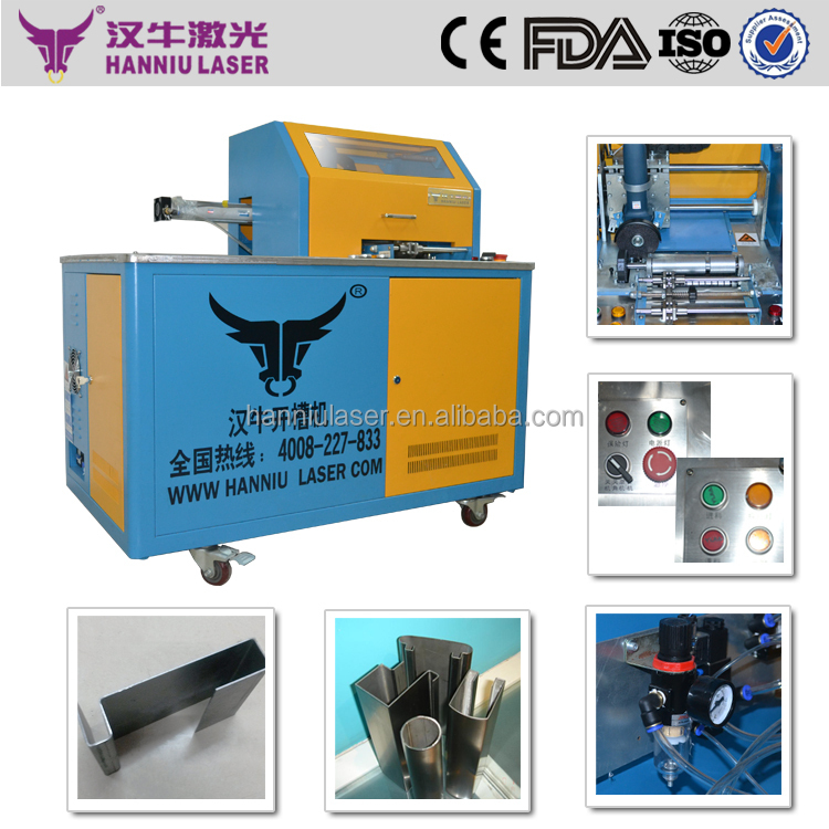 channel letter steel slotting machine for Ad words forming