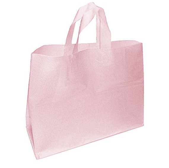 Lady Carry Plain Biodegradable OEM Roto Gravure Printed Plastic Shopping Bag
