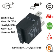 Magnetic Latching Car 12V DC Voltage Sensitive Relay Price 12V Relays within 10 Minutes Quotation