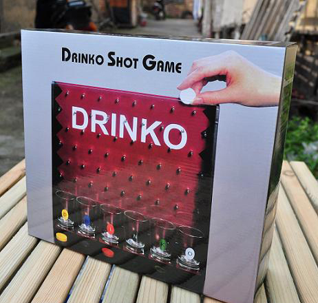Shot Glass Drink Bar Game Set/drinking game