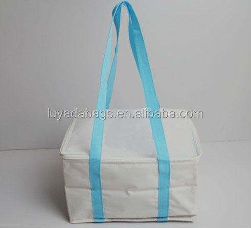 Portable adult kids lunch picnic insulated cooler bag