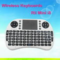 2016 high quality!Rii i8 air mouse wireless keyboard with touchpad for Laptop / Tablet / TV Box / Mini PC / TV
