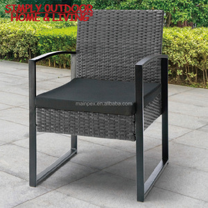 Metal Frame Chair Rattan Garden Furniture Sofa Set Rattan Dining Chair