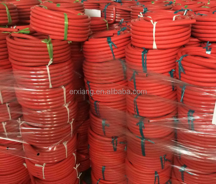 Super quality latest red rubber covered fire hose