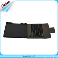 Power saving strong Kick stand Leather Case Slim Bluetooth keyboard for iPad Pro 12.9 inch BK129-7