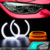 China newest popular multifunction E92 3.6W 12V angel eyes ring car accessories 2016
