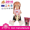 Plastic Doll Cute Pet Doll Asseccories Toy Doll For Kids