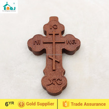 Wholesale wooden crucifix crosses promotion gift