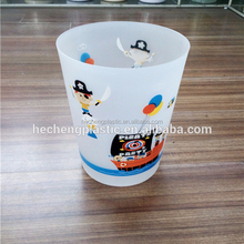 heat transferprinting new plastic dustbin without cover