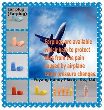 Aviation applications Earplug for Flight ear protection
