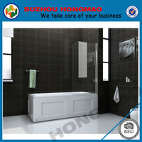 6mm glass thickness luxury bathtub size shower enclosures