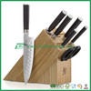 kitchen Bamboo Knife block stand holder