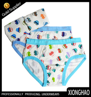 Nice-looking all-over printing kid boy underwear model made in cangnan
