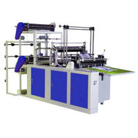 Computer control Plastic bag making machine, sealing and cutting bag machine