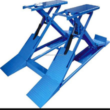 Low profile portable central hydraulic scissor lift car lift garage lift