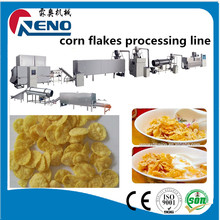 Quality China crisp corn flakes grain puffing machine manufactured in