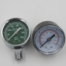 plastic digital air pressure gauge with BSP thread