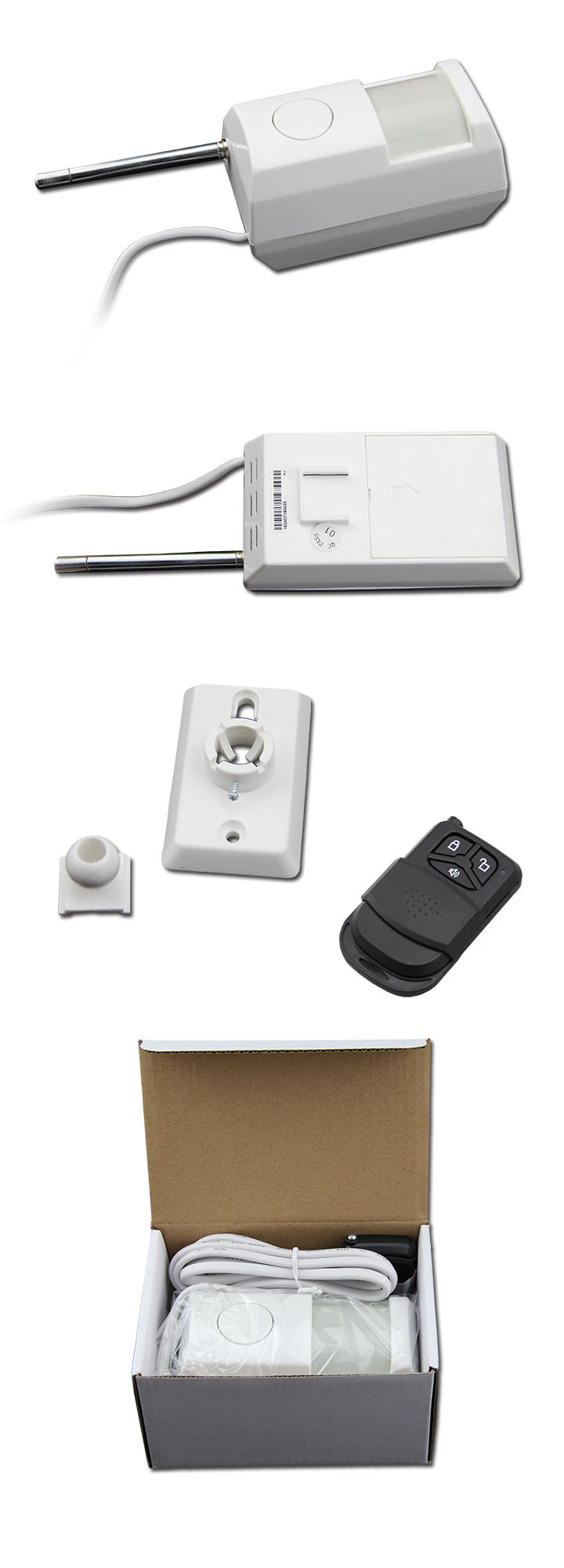 PIR Detector With Alarm for Public Security (KS-60B)