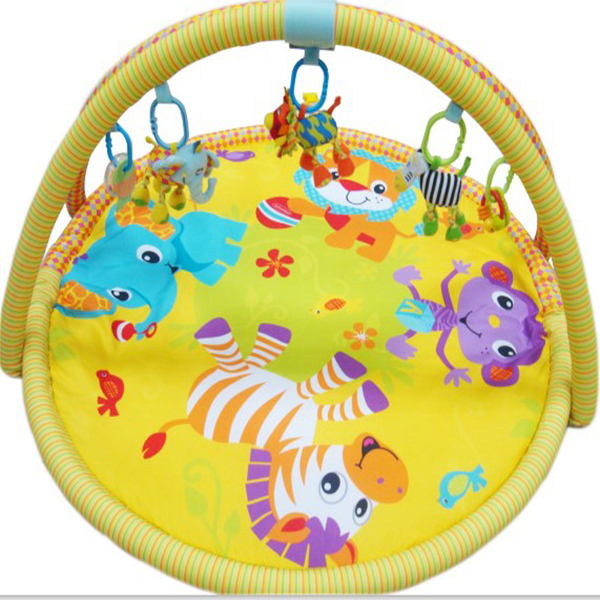 Animals World Baby Activity Play Gym Mats Plush