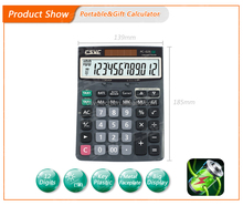 Factory Directly mini slim card solar power pocket calculator Exported to Worldwide