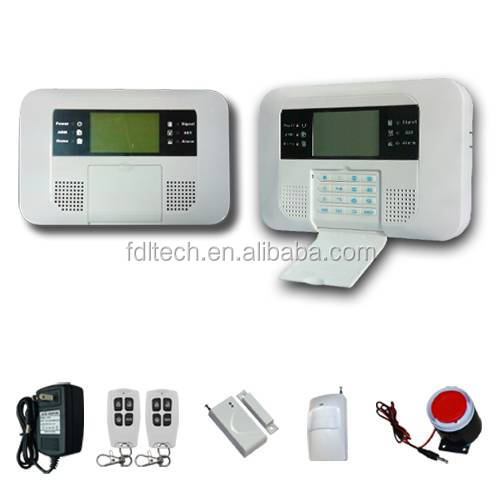 GSM Home Security Alarm System With PIR Detectors wifi home alarm system FDL-40B
