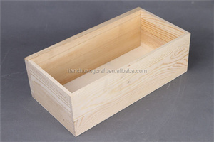 Home wooden case for socks wooden storage box