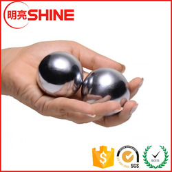 "Solid Steel Large 2"" Hand And Wrist Strengthening Baoding Balls for Big Hands"