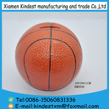 basketball shaped ceramic money bank for gift